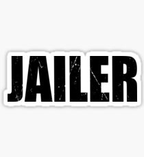 Jailer Halloween Costume Party Cute & Funny T shirt Halloween Costume Party Cute & Funny Costume T Shirt Cute Cheap Costume Halloween Shirt Funny Gift Sticker