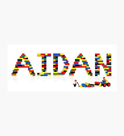 Aidan Photographic Print