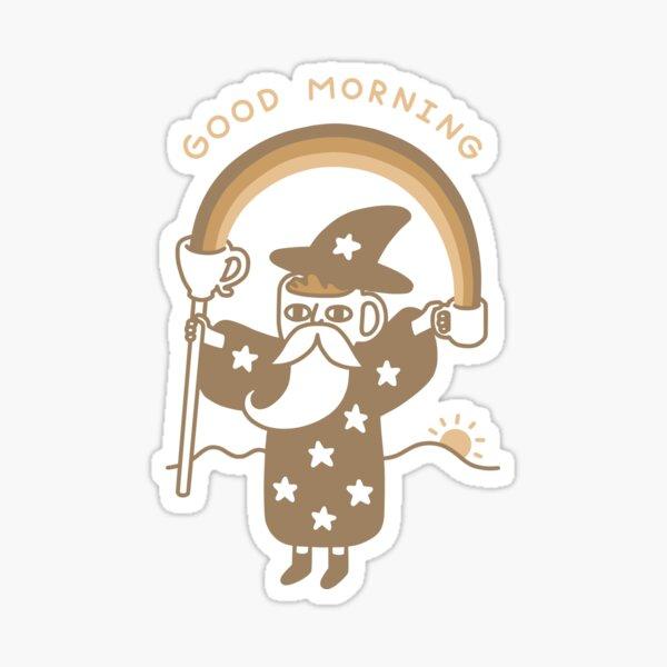 Coffee Wizard Sticker