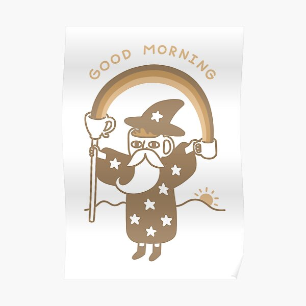 Coffee Wizard Poster