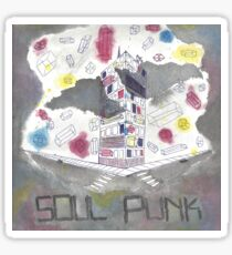 Soul Punk- alternative album fan art   Sticker