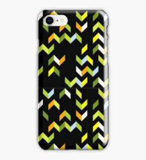 Abstract Forest Tracks iPhone Case/Skin