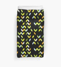 Abstract Forest Tracks Duvet Cover