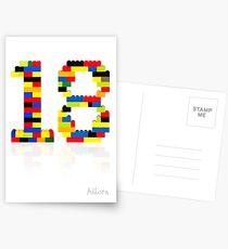 18 Postcards
