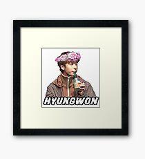Chae Hyungwon Framed Print