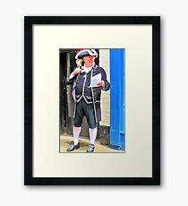 Town Crier York Framed Print
