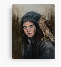 Gimlet eye Canvas Print