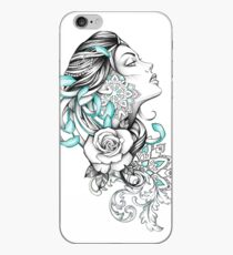 Chrysanthemendame iPhone-Hülle & Cover