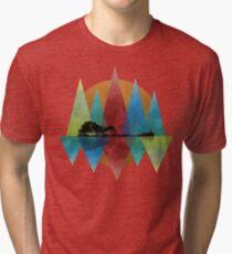 Nature Guitar Tri-blend T-Shirt