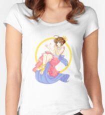 Cardcaptor Sakura: Magic Women's Fitted Scoop T-Shirt