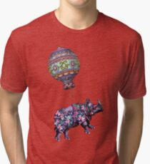 If Rhinos Could Fly Tri-blend T-Shirt