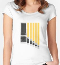 A Splash of Yellow Women's Fitted Scoop T-Shirt