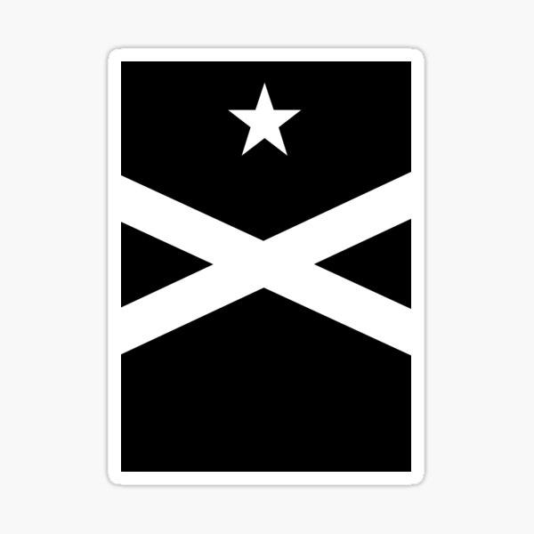 Black Flag (Santa Hermantat Catalana) Sticker
