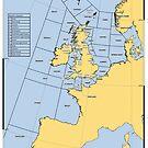 UK Shipping Forecast Map by ianturton