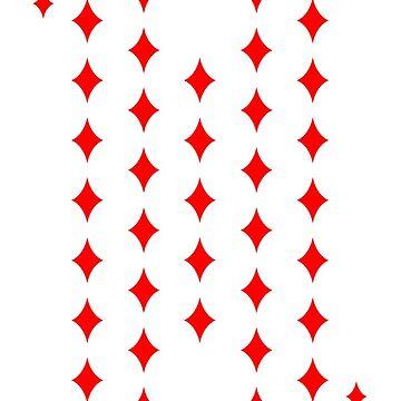 35 Diamonds Magic Birthday Card by harrizon