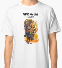 VFX Artist - Level 0 (Black Text) Classic T-Shirt