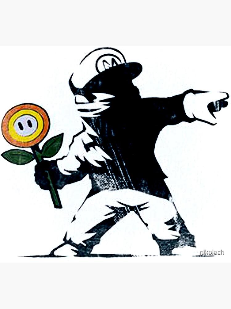 The Mario Flower Chucker by nikolech