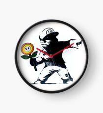 The Mario Flower Chucker Clock