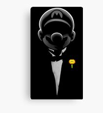 Super formal Mario Canvas Print