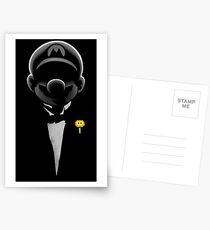 Super formal Mario Postcards