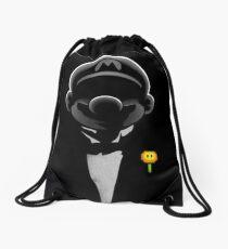 Super formal Mario Drawstring Bag