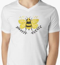 Wattle it Bee?  Men's V-Neck T-Shirt