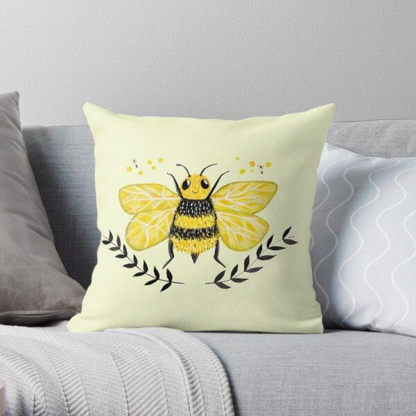 Wattle it Bee?  Throw Pillow