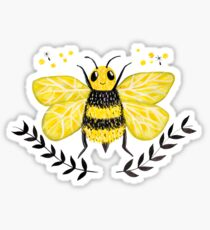 Wattle it Bee?  Sticker