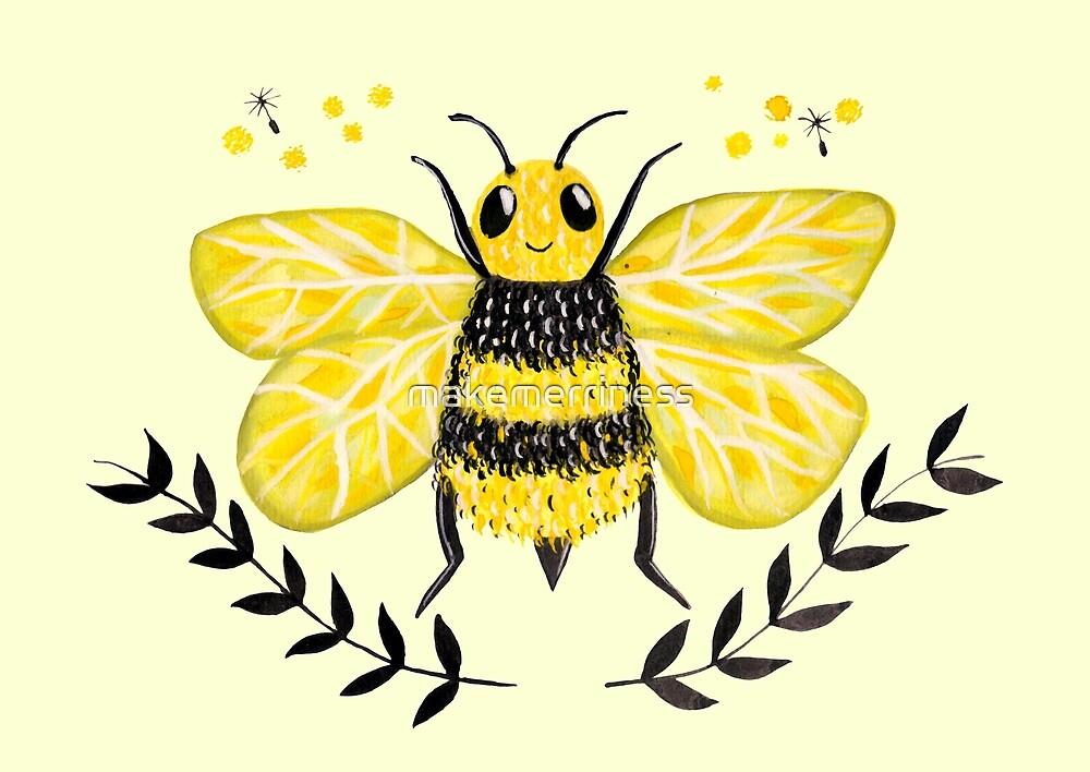 Wattle it Bee?  by makemerriness
