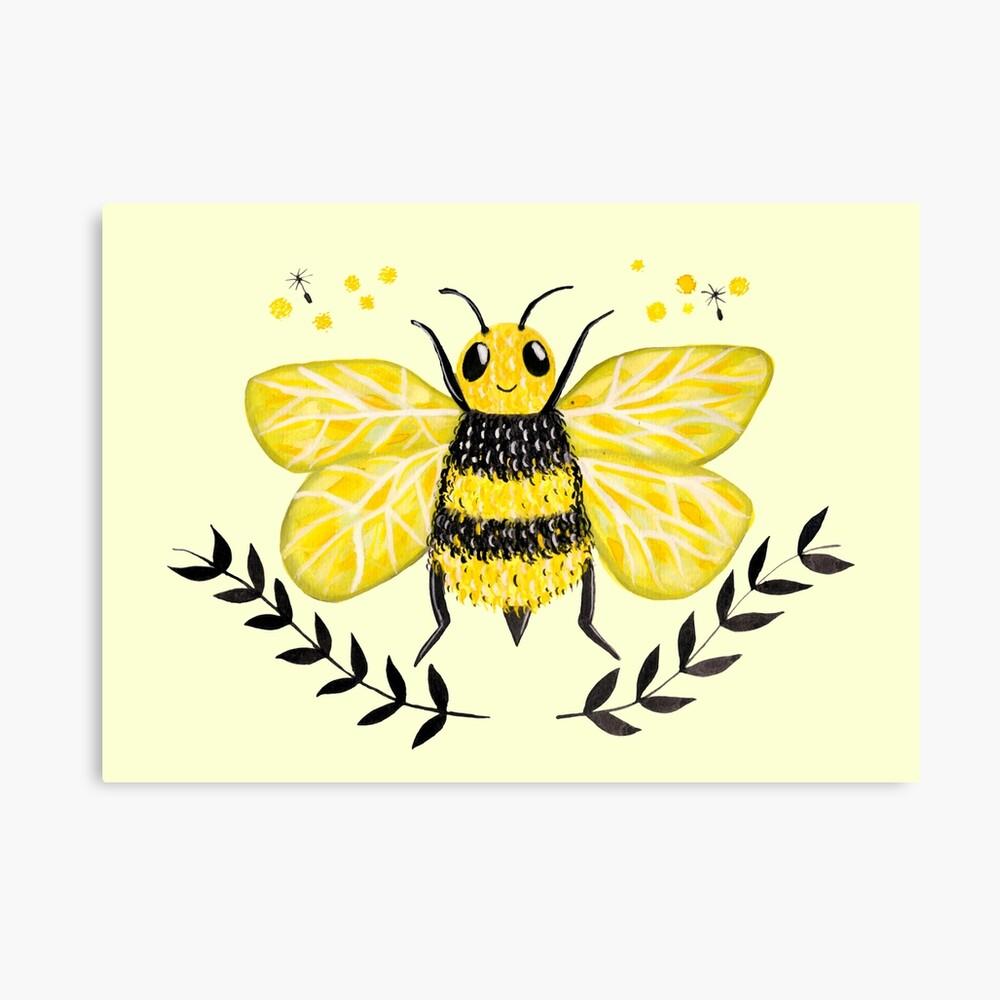 Wattle it Bee?  Canvas Print