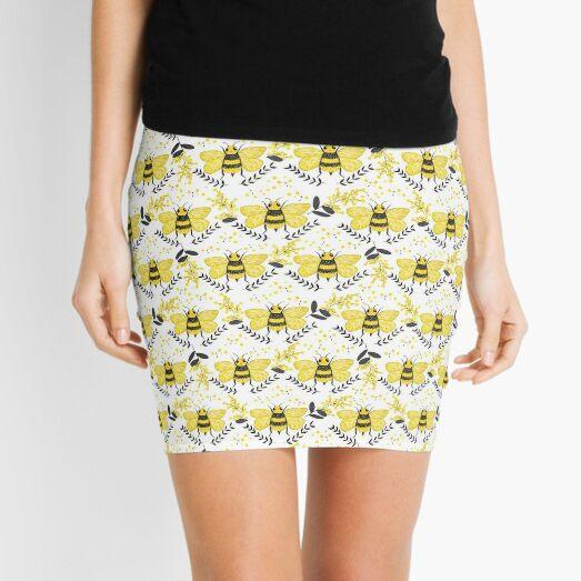 Wattle it Bee?  Mini Skirt