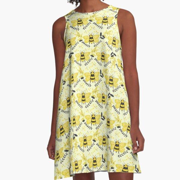 Wattle it Bee?  A-Line Dress