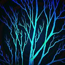 BLUE TREES by Linda Callaghan