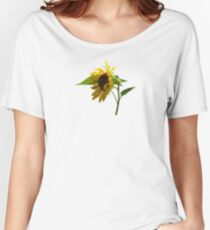 Backlit Sunflower Women's Relaxed Fit T-Shirt