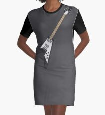 Flying V Classic Graphic T-Shirt Dress