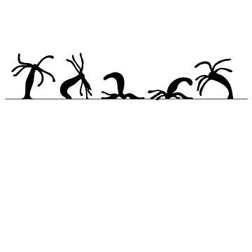 Hydra somersault by Irrelevantpanda