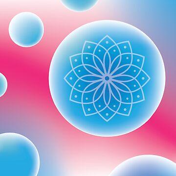Mandala Bubble by keltickat