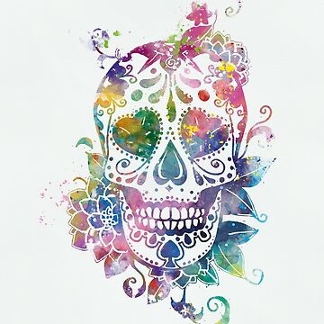 Sugar Skull by MonnPrint