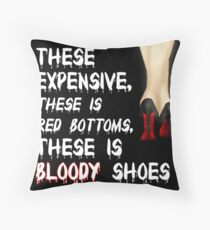 Bodak Yellow Throw Pillow