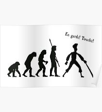Evolution of insult swordfighting Poster