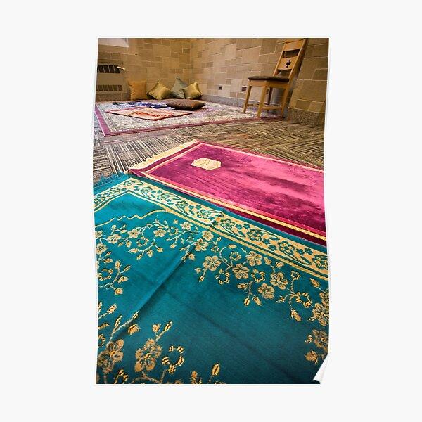 Islamic Prayer Room Poster