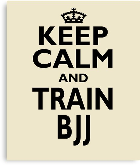 Bjj Fighter Keep Calm Birthday Canvas Prints By Smily Tees Redbubble