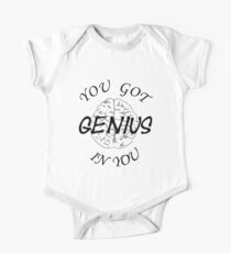 GENIUS IN YOU One Piece - Short Sleeve