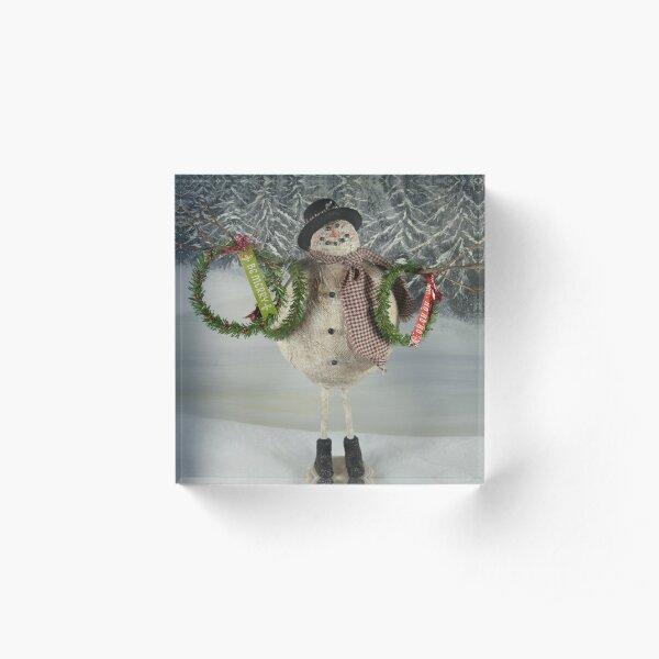 Wreaths For Sale Acrylic Block