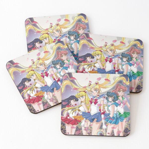 Sailor Team Coasters (Set of 4)