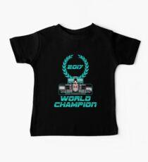 Lewis Hamilton F1 2017 World Champion Baby Tee