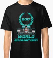Lewis Hamilton F1 2017 World Champion Classic T-Shirt