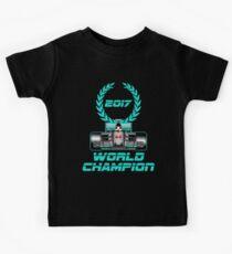 Lewis Hamilton F1 2017 World Champion Kids Clothes