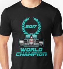 Lewis Hamilton F1 2017 World Champion Unisex T-Shirt