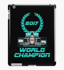 Lewis Hamilton F1 2017 World Champion iPad Case/Skin